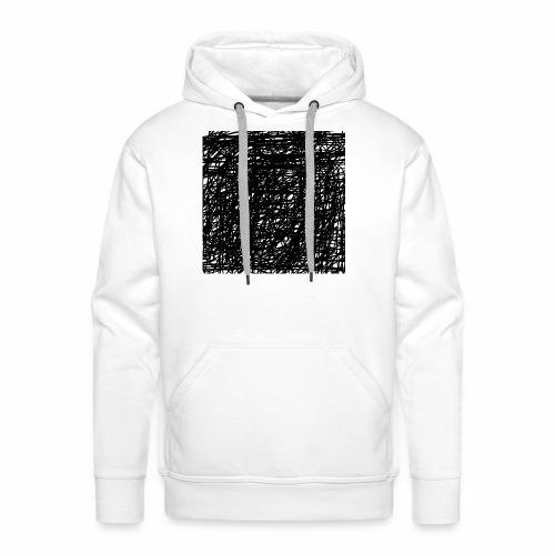 Kritzel-Design - Männer Premium Hoodie