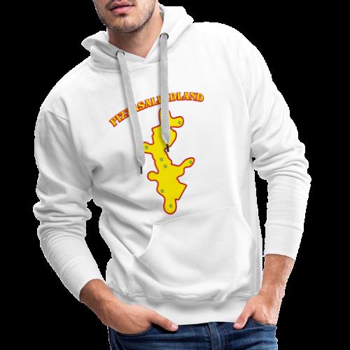 T-shirt, Pizzasalladland - Premiumluvtröja herr