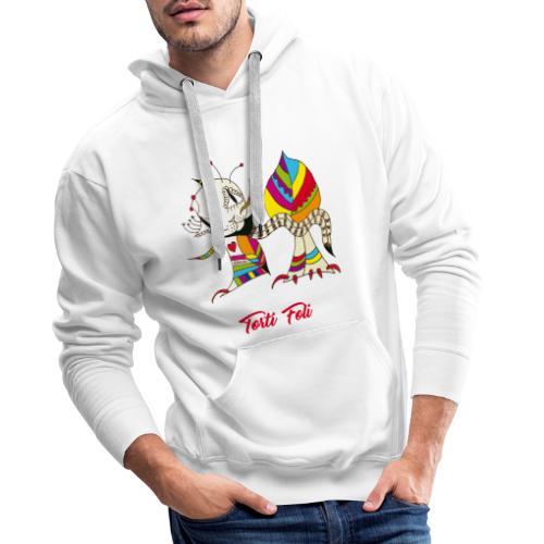 Torti Foli - Sweat-shirt à capuche Premium pour hommes