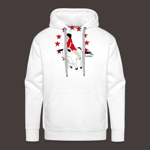 Europa - Sweat-shirt à capuche Premium pour hommes