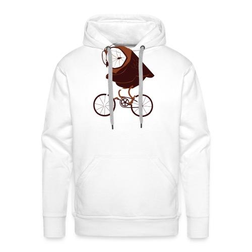 Cycling Owl - Männer Premium Hoodie