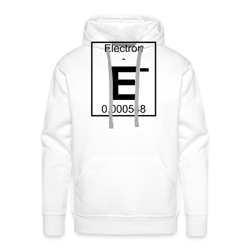E (electron) - pfll - Men's Premium Hoodie