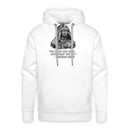 Genghis Khan quote - Mannen Premium hoodie