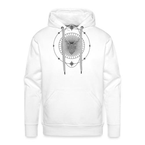 ASTROcerf - Sweat-shirt à capuche Premium pour hommes