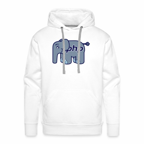 Der PHP Elefant - elePHPant - Männer Premium Hoodie