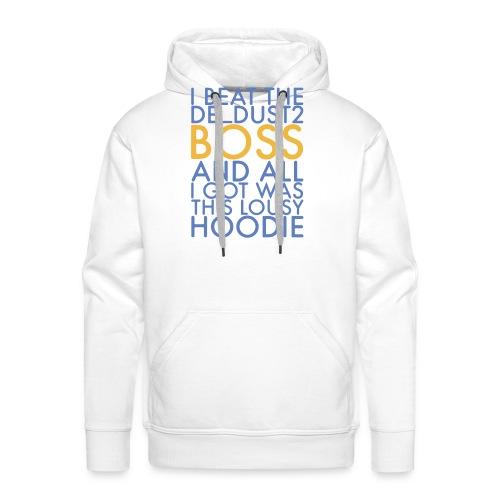 dust2 boss lousy hoodie design png - Men's Premium Hoodie