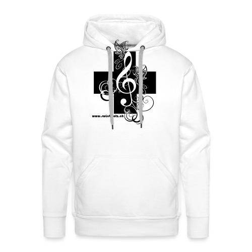 Swiss Beatz Logo non L - Männer Premium Hoodie
