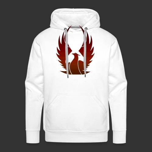Phenix on fire - Sweat-shirt à capuche Premium pour hommes