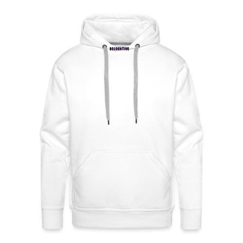 Be Creative! - Mannen Premium hoodie