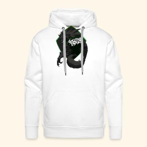 font logo spectral2 - Sweat-shirt à capuche Premium pour hommes