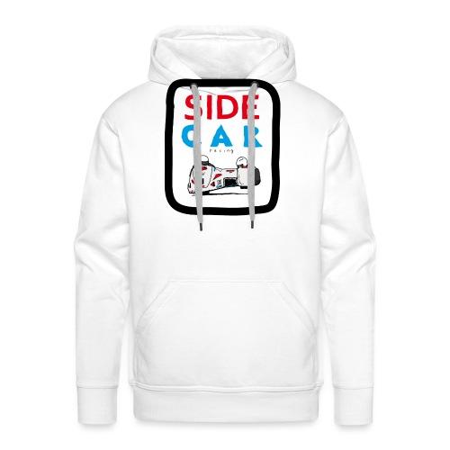 SIDE car racing - Sweat-shirt à capuche Premium pour hommes