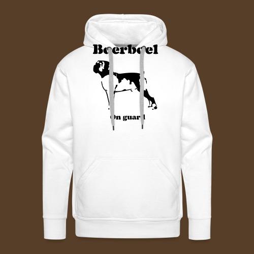 Boerboel on Guard - Männer Premium Hoodie