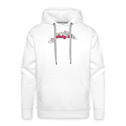 Maglietta Donna Liguria - Felpa con cappuccio premium da uomo