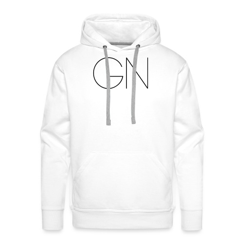 Långärmad tröja GN slim text - Premiumluvtröja herr