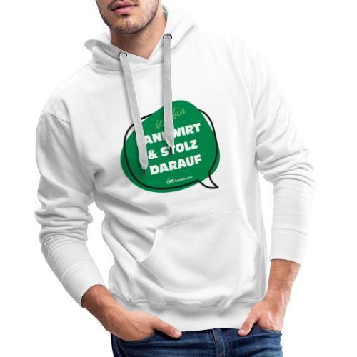 Landwirt und stolz darauf - Männer Premium Hoodie
