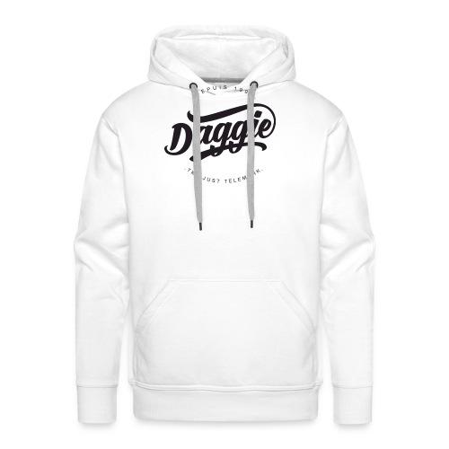Daggies LOGO Serigraphie - Sweat-shirt à capuche Premium pour hommes