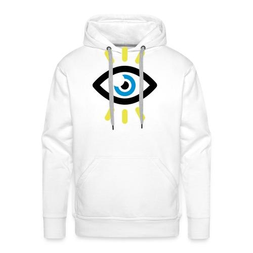 SYMBOLE OEIL OUVERT - Sweat-shirt à capuche Premium pour hommes