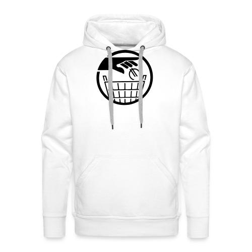 Euro poubelle NOIR - Sweat-shirt à capuche Premium pour hommes