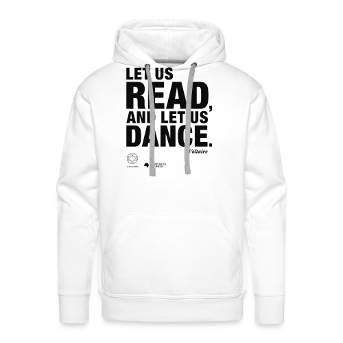 LET US READ | Bookish Merch - Männer Premium Hoodie