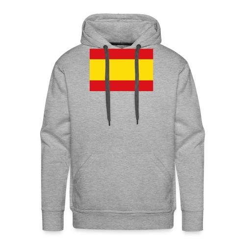 vlag van spanje - Mannen Premium hoodie