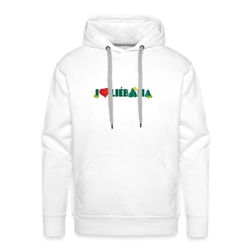 Love Liébana - Sudadera con capucha premium para hombre