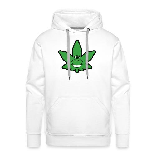 Weed Leave Eye - Mannen Premium hoodie