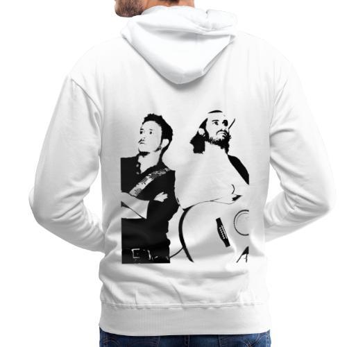 Das Schwarz-Weiße Bild - Männer Premium Hoodie