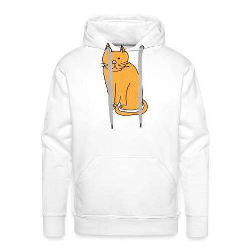 Cat Travel Mug - Men's Premium Hoodie
