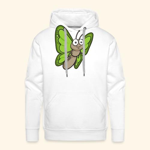 Butterfly Cartoon - Men's Premium Hoodie