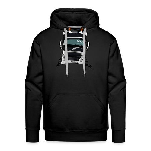 0488 V truck wit - Mannen Premium hoodie
