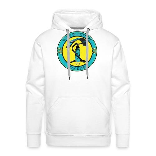 logo bzh - Sweat-shirt à capuche Premium pour hommes
