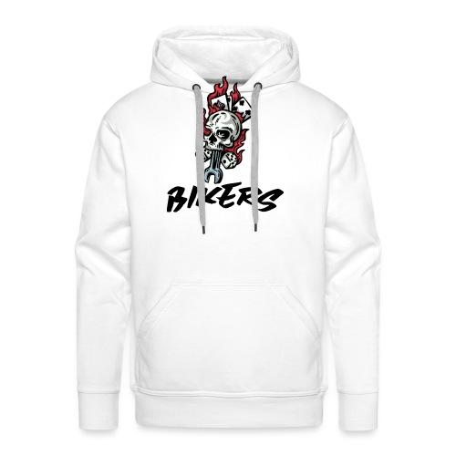 bikers 66 - Sweat-shirt à capuche Premium pour hommes