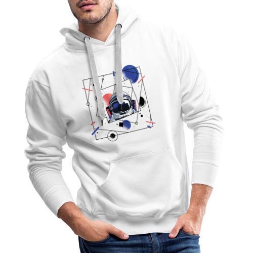 Beste Astronaut Weltraum Designs - Männer Premium Hoodie