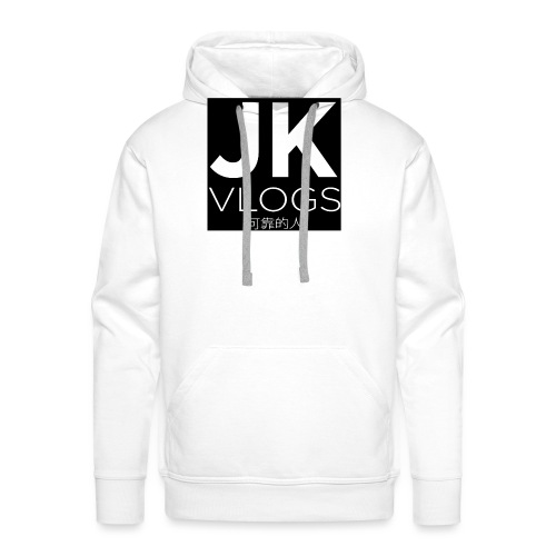 JK Vlogs Box Logo - Men's Premium Hoodie