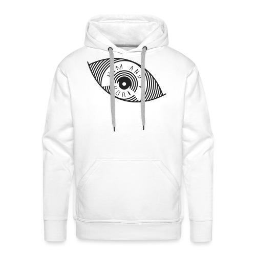 Him and I - Sweat-shirt à capuche Premium pour hommes