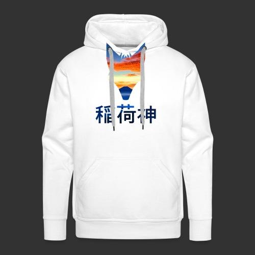 Inari Fox (Fuji Edition) - Sweat-shirt à capuche Premium pour hommes