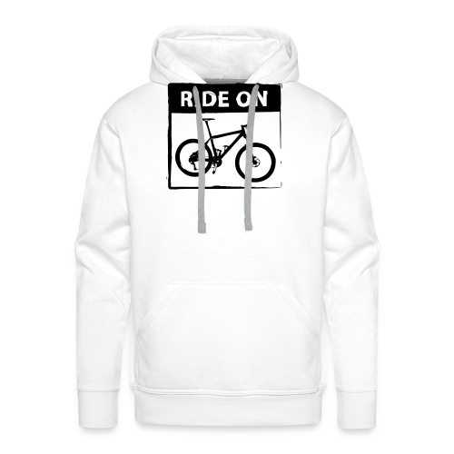 Ride On MTB 1 Color - Männer Premium Hoodie