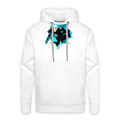 Meem version homme - Sweat-shirt à capuche Premium pour hommes
