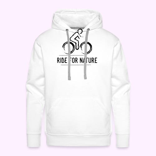Ride For Nature - Männer Premium Hoodie