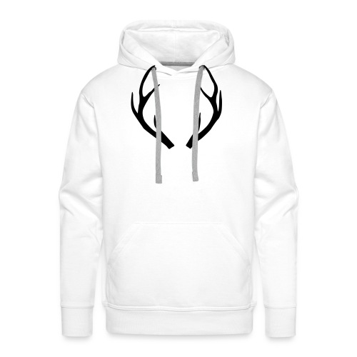 deer antler - Men's Premium Hoodie