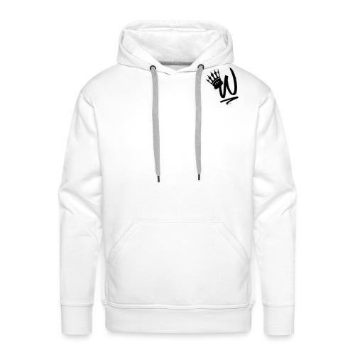 ItzWilz Official White T-Shirt - Men's Premium Hoodie