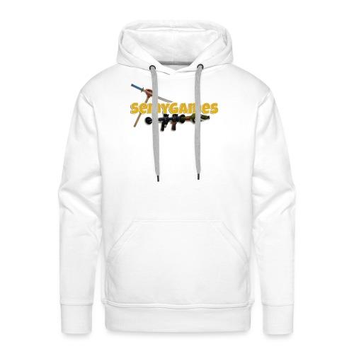 MerchLogo - Mannen Premium hoodie