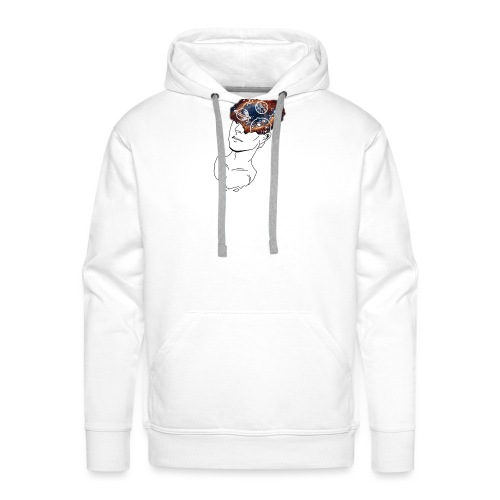 Mind Blown Out Of This World - Men's Premium Hoodie
