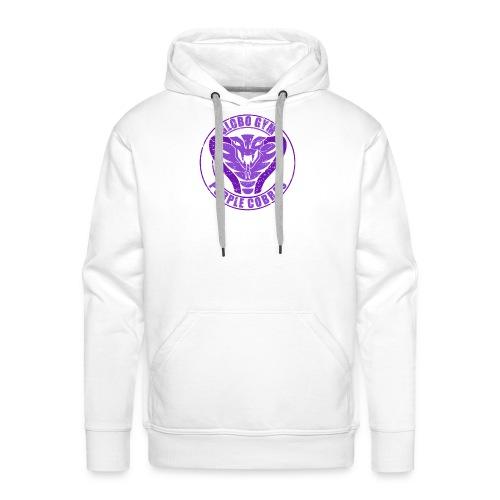globo gym costume - Sweat-shirt à capuche Premium pour hommes