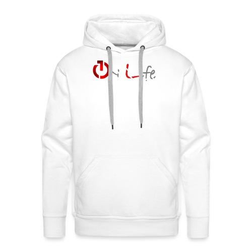 OnLife Logo - Sweat-shirt à capuche Premium pour hommes