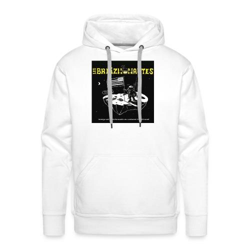 Un breizhonaute - Sweat-shirt à capuche Premium pour hommes