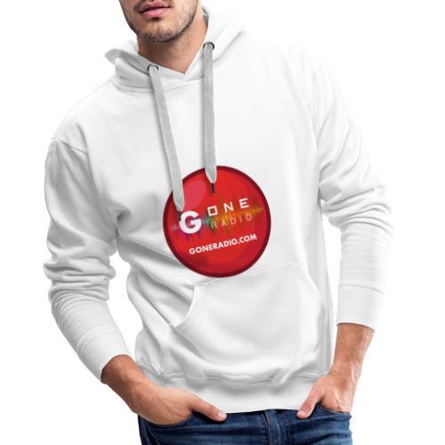 G ONE RADIO.COM - Sweat-shirt à capuche Premium pour hommes