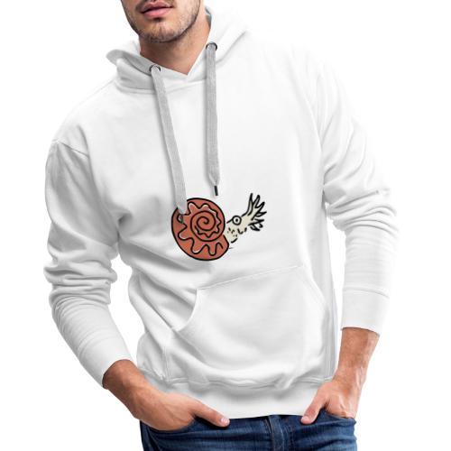Ammonite - Sweat-shirt à capuche Premium pour hommes