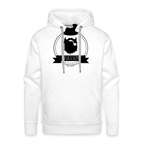 Wurzlsepp Logo - Männer Premium Hoodie