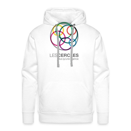 LESCERCLES Logo Colour - Men's Premium Hoodie